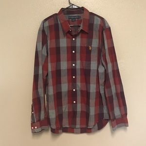 U.S. POLO Assn. Plaid Button Down 2XL